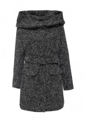 Пальто утепленное Bruebeck. Цвет: серый