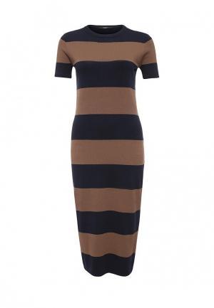 Платье Weekend Max Mara. Цвет: разноцветный