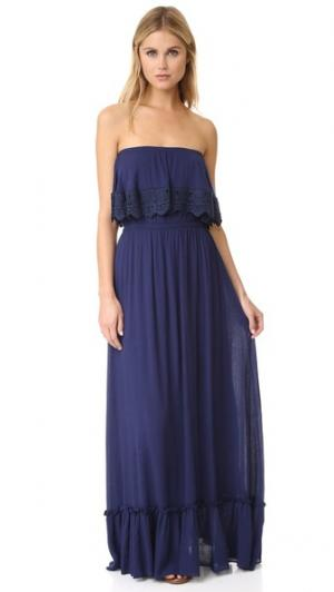 Платье Eve MISA. Цвет: голубой