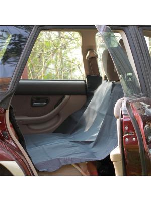 Автогамак OSSO Car для перевозки собак в автомобиле OSSO-fashion. Цвет: серый