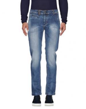 Джинсовые брюки MAMUUT. Цвет: синий