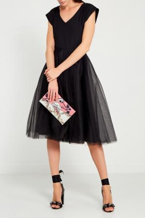 Черная юбка-пачка VIKTORIA IRBAIEVA. Цвет: черный