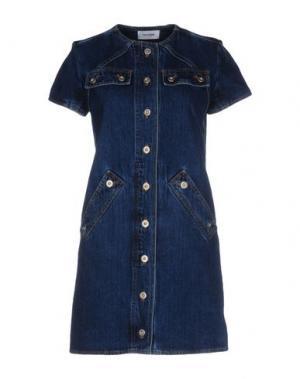 Короткое платье COURRÈGES. Цвет: синий