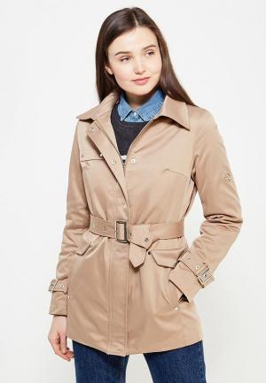 Куртка утепленная Mazal. Цвет: бежевый