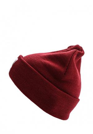 Шапка CLWR. Цвет: бордовый