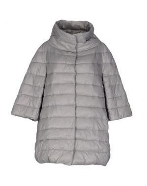 Куртка BINI COMO. Цвет: светло-серый