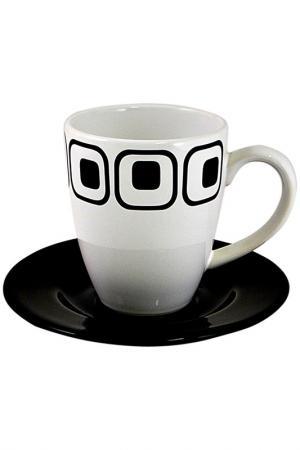 Чашка с блюдцем Club Waechtersbacher. Цвет: мультицвет
