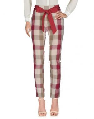 Повседневные брюки MARCHÉ_21. Цвет: розовато-лиловый