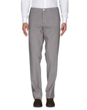 Повседневные брюки DIMATTIA. Цвет: хаки