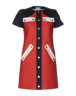 Короткое платье COURRÈGES. Цвет: красный