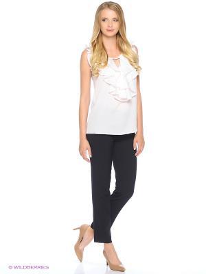 Блуза MARY MEA. Цвет: белый, розовый