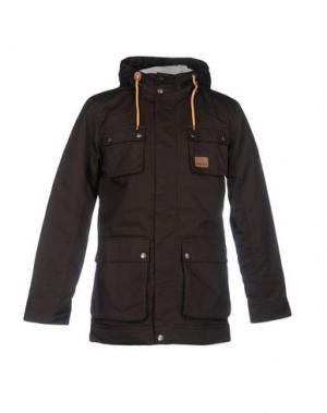 Куртка ENCORE. Цвет: темно-коричневый