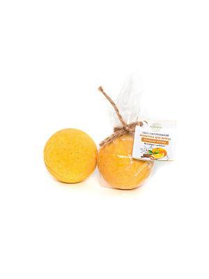 Набор бомбочек для ванны Апельсин-корица Siberina. Цвет: оранжевый