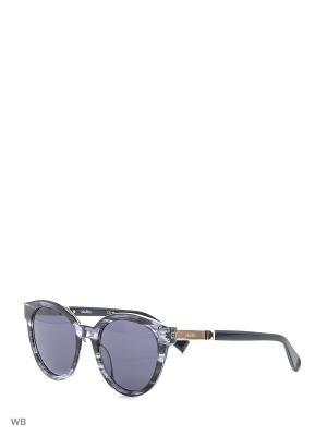 Солнцезащитные очки MAXMARA. Цвет: серо-голубой
