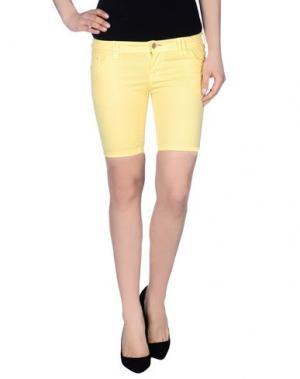 Бермуды JCOLOR. Цвет: желтый