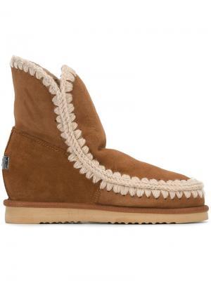 Ботинки Eskimo Mou. Цвет: коричневый