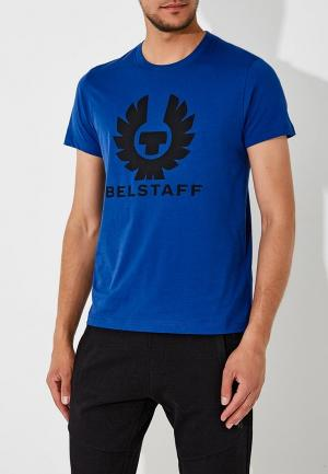 Футболка Belstaff. Цвет: синий