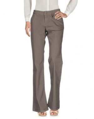 Повседневные брюки ROŸ ROGER'S. Цвет: светло-коричневый