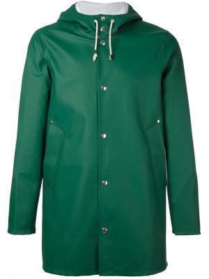 Пальто Stockholm Stutterheim. Цвет: зелёный