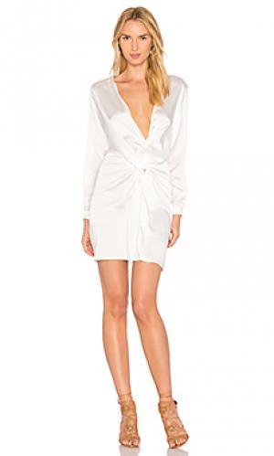 Платье lust and fame LIONESS. Цвет: белый