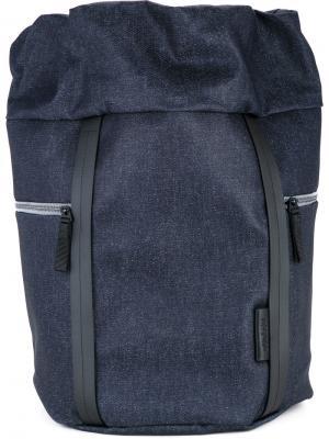 Рюкзак среднего размера Saar Côte&Ciel. Цвет: синий