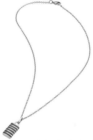 Колье Zoppini. Цвет: серебряный