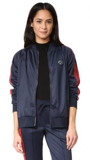 Спортивная куртка Pam & Gela. Цвет: темно-синий