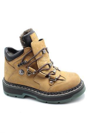 Ботинки Etor. Цвет: нубук, светло-желтый