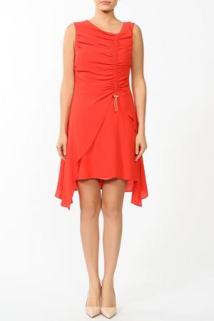 Платье Kenzo. Цвет: красный