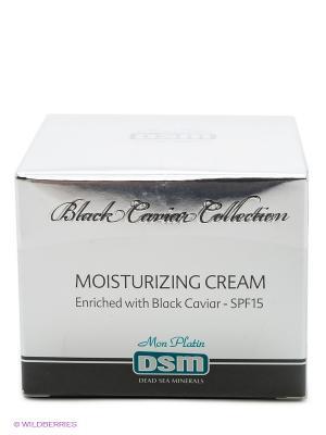Увлажняющий крем Black Caviar Collection, 50 мл Mon Platin DSM. Цвет: серебристый
