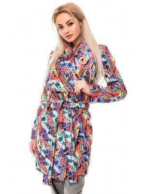 Пальто Issa Plus. Цвет: светло-голубой, оранжевый, розовый