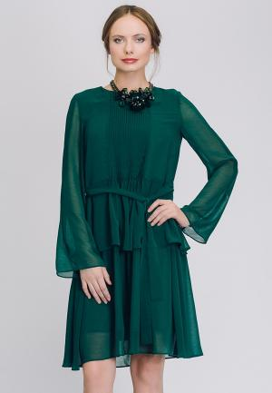 Платье Cavo. Цвет: зеленый