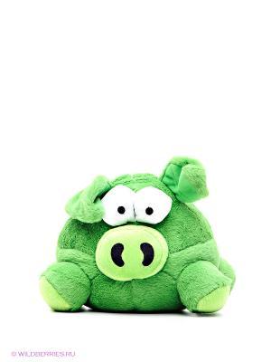 Зверь Хохотун - свинка Woody O'Time. Цвет: зеленый