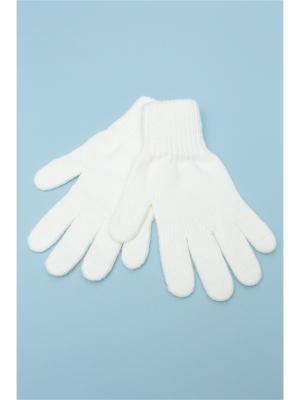 Перчатки FOMAS. Цвет: молочный