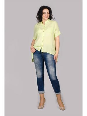 Блузка Лагуна. Цвет: салатовый