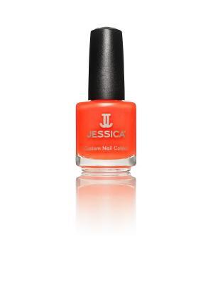 Лак для ногтей  # 746 Alia-Sun-Kissed Beauty, 14,8 мл JESSICA. Цвет: оранжевый