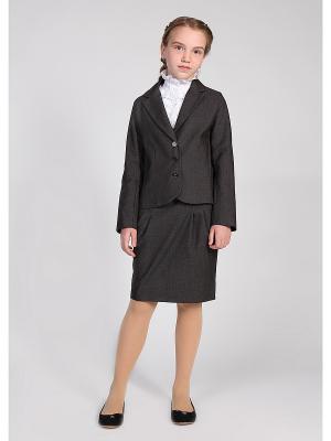 Пиджак 80 LVL. Цвет: темно-серый