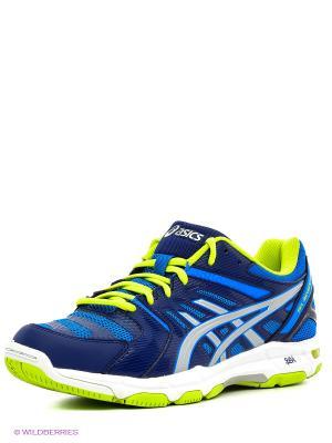 Волейбольные кроссовки Gel-Beyond 4 ASICS. Цвет: синий, серебристый, черный