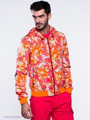Ветрока Versace. Цвет: оранжевый, кремовый, фуксия