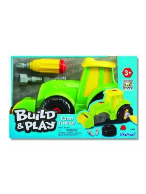 Build & Play - Трактор Keenway. Цвет: салатовый, желтый