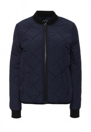 Куртка утепленная Tom Tailor Denim. Цвет: синий