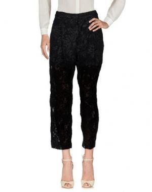 Повседневные брюки RONNY KOBO. Цвет: черный