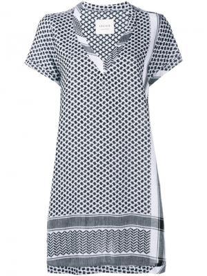 Платье c V-образным вырезом Cecilie Copenhagen. Цвет: чёрный