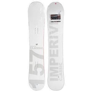 Сноуборд  Classic 157 White Imperivm. Цвет: белый