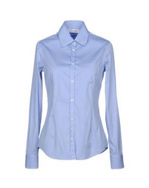 Pубашка AGLINI. Цвет: лазурный