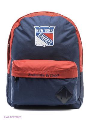 Рюкзак Rangers Atributika & Club. Цвет: красный, синий