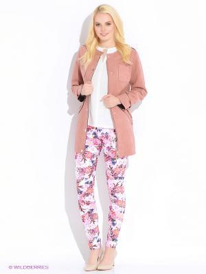 Пальто CONVER. Цвет: розовый