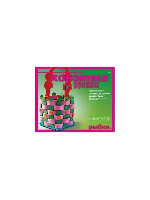 Набор Корзиночка своими руками. Рыбка Альт. Цвет: розовый, темно-зеленый, малиновый