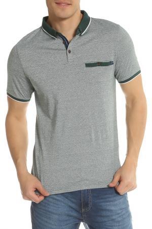 Рубашка-поло LE SHARK. Цвет: серый