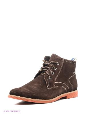 Ботинки San Marko. Цвет: темно-коричневый